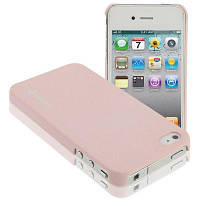 Чехол SGP Series Ultra Thin Pink для iPhone 4/4s