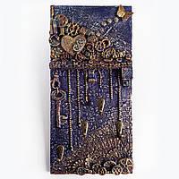 Настенная ключница в стиле лофт Подарки для дома Ручная работа