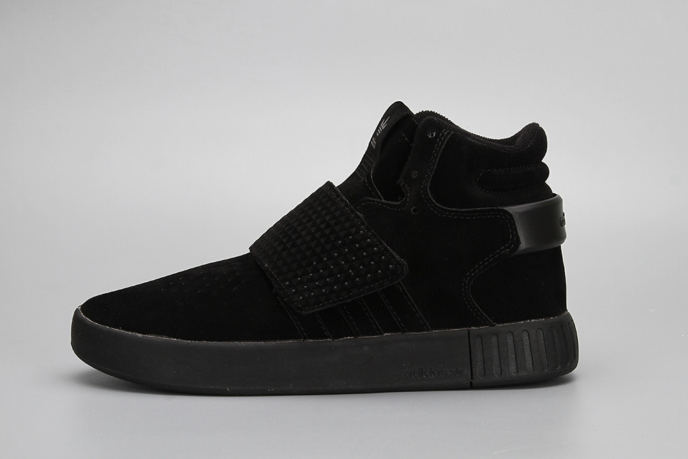 Кроссовки Adidas Tubular Invader Black (реплика)