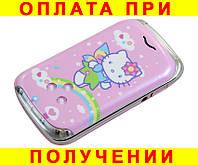 Hello Kitty модная раскладушка для девочек Nokia W 999 (Duos, 2 сим карты, хелло китти)