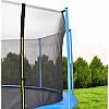 Батут Malatec диаметром 252см (8ft) спортивный для детей с внутреней сеткой и лестницей, фото 2