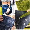 Женские джинсы змейка на попе ат20070.1гл