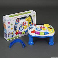 """Игровой музыкальный столик WD 3628 """"Динозавр"""" (24/2) звук, свет, на батарейке, в коробке"""