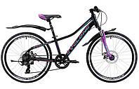 """Велосипед 24"""" Cyclone DREAM 2.0 Черно-фиолетовым"""