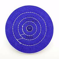 Круг муслиновый CROWN 175 мм 7х60 синий