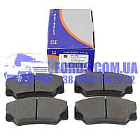 Колодки тормозные передние FORD TRANSIT 1985-1991 (5023486/89VX2K021CA/DP704) DP GROUP