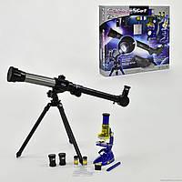 Телескоп+микроскоп С 2112 (18) в коробке