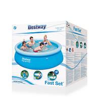 Надувной бассейн Bestway Fast Set 2,44х66 Б/У