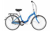 """Велосипед 24"""" Winner Ibiza синий складной"""