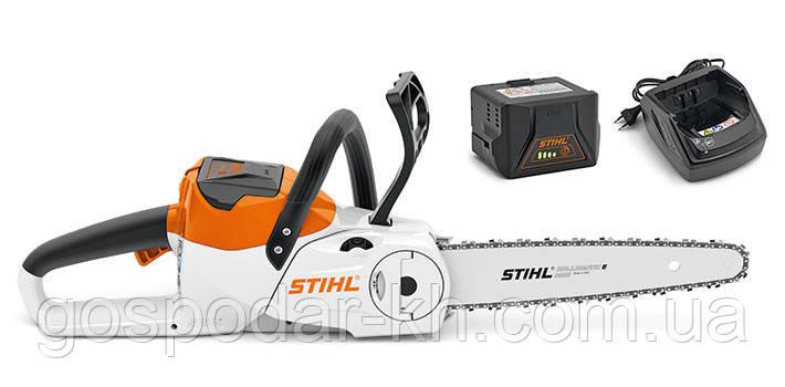 MSA 120 C-BQ SET аккумуляторная пила STIHL