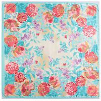 Шарф платок Нежные цветы