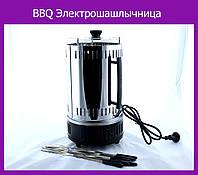 BBQ Электрошашлычница Domotec 6 шампуров!Лучший подарок