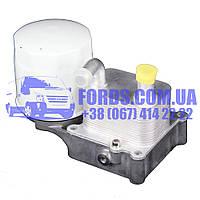 Радиатор масляный FORD CONNECT/FOCUS/FIESTA/MONDEO 2000-2014 (1.8TDCI Ø8MM) (1405017/2M5Q6B624BD/CS1417) DP GROUP, фото 1