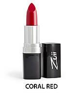 Органическая кремовая помада  Coral Red  Zuii Organic, 4г