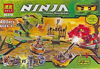 Конструктор Ninja 9758 «Змеиная арена»