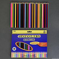 Карандаши цветные 0684 (80) 36шт в упаковке