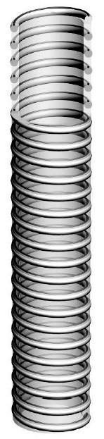Вакуумный шланг, антистатический, ПУ, —25°С/+85°С, 1463-40