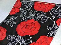 Самоклейка, цветы, розы, HONGDA, 45 cm