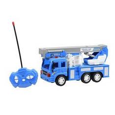 Машинка на р / у Same Toy CITY Кран синий F1630Ut