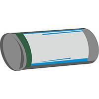Мешки для мусора полиэтиленовые 60л ЧИСТОТА ТА БЛИСК (Серые)