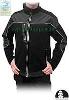 Куртка рабочая утепленная с сигнальными вставками Польша (рабочая утепленная одежда) LH-ROBBE BS