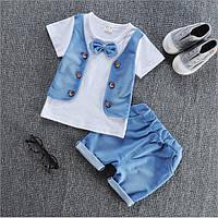 Костюм летний детский шорты и футболка для мальчика