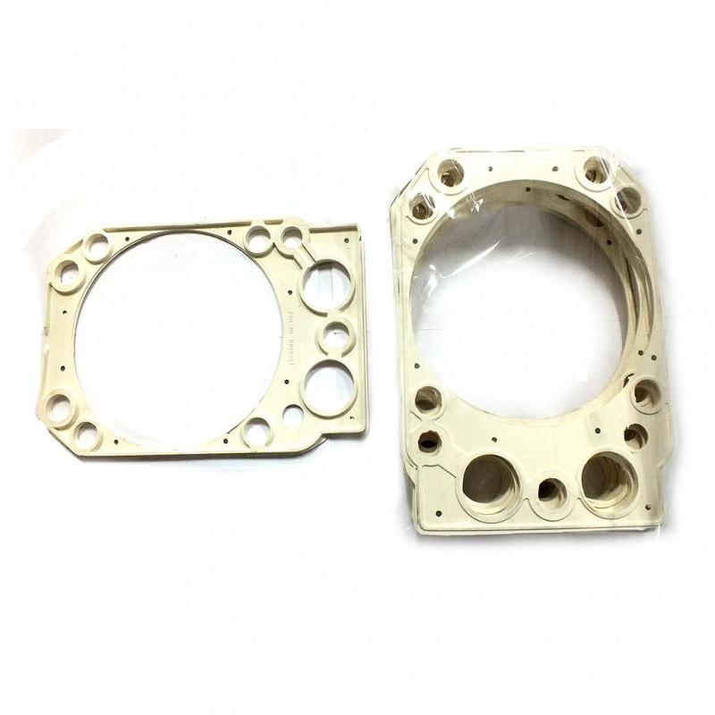 Прокладка головки блока ЕВРО армированная сталью (к-т из 8шт) (СTM S.I.L.A.) 740.30-1003213 БС