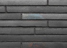 Плитка для зовнішніх робіт Stroeher 456 schwarz-blau, серія RIEGEL 50 Ригель-формат 490х40х14