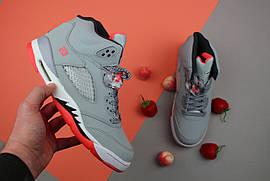 """Кроссовки женские Nike Air Jordan 5 GS """"Hot Lava"""" / NR-AJW-292 (Реплика)"""