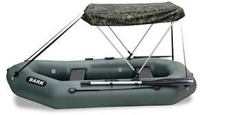 Тент на надувную лодку Bark В-210