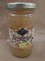 Лимон и имбирь перетертый с сахаром 400 г.