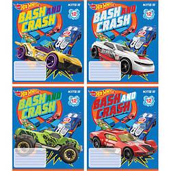 Тетрадь школьная Kite Hot Wheels,HW18-234 12 листов, в линию, HW18-234