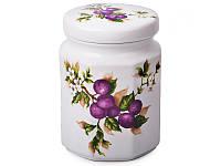 """Банка для сыпучих продуктов """"фруктовый сад"""", 20 см, Lefard, 726-030"""