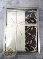 Скатерть HOME PLUS тканевая в подарочной коробке-1