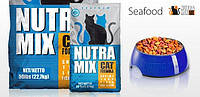 Nutra Mix Seafood  1кг -корм для кошек с морепродуктами, фото 2