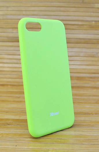 Силиконовый чехол на Айфон, iPhone 7 ALL DAY зелёный