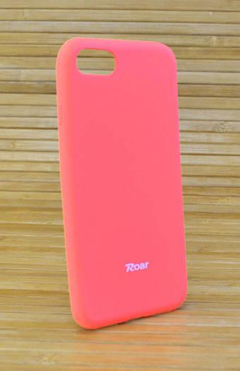 Силиконовый чехол на Айфон, iPhone 7 ALL DAY оранжевый