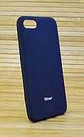 Силиконовый чехол на Айфон 7 7s ALL DAY чёрный