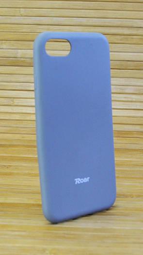 Силиконовый чехол на Айфон, iPhone 7 ALL DAY серый
