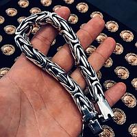 Браслет  Серебро 925 пробы  Лисий хвост 120 грамм