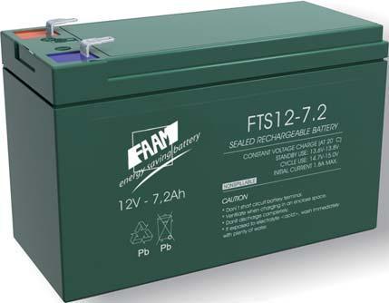 Аккумуляторная батарея FAAM FTS12-7.2