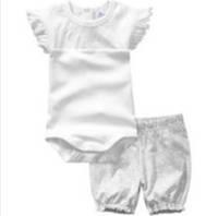 Комплект детский (боди+штаны) для девочки размер 56