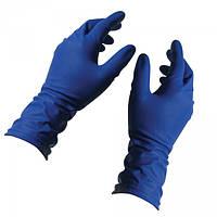 Перчатки нитриловые неопудренные, темно синие Nitrylex ,М. 100 шт.