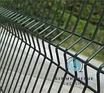 Ограждение / Забор секционный 1,5м х 2,5 м из сварной сетки с полимерным ПВХ покрытием. Эконом