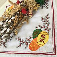 Пасхальная салфетка с вышивкой №2