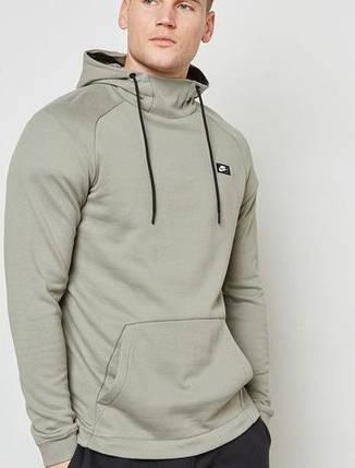 Толстовка Nike Modern Pullover Hoodie Mens 805128-004 (Оригинал) , фото 2