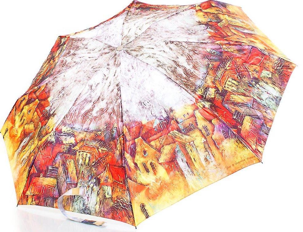 Зонт для женщин автомат ZEST Z54914-2 антиветер