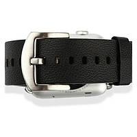 Кожаный ремешок Baseus для Apple Watch 42mm Black
