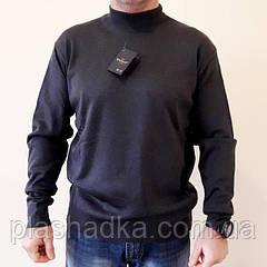 Мужской свитер больших размеров р.54-56, Турция, цвет графит