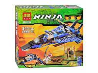 """Конструктор  Bela Ninja (аналог Lego Ninjago) 9756 """"Джей и его штурмовой истребитель"""" , 241 дет, фото 1"""